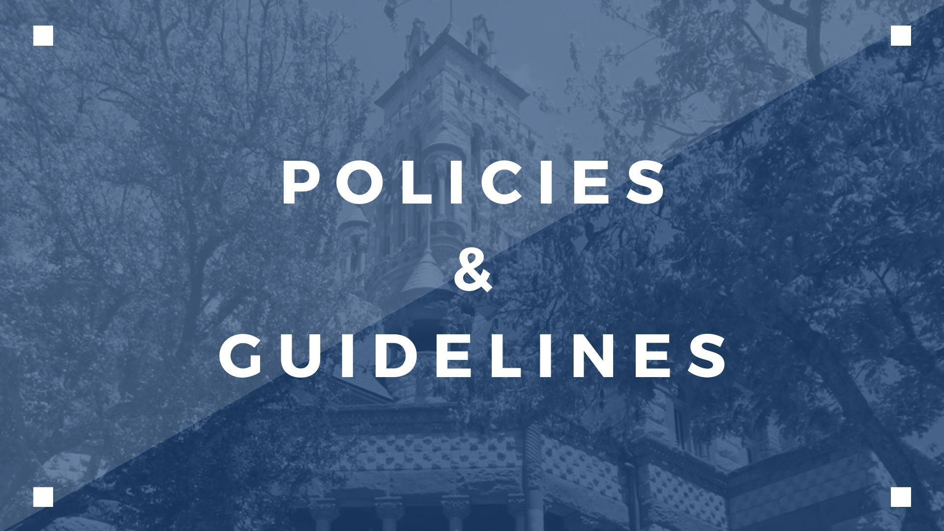 Policies-Guidelines