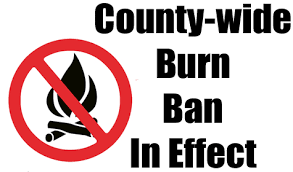 Ellis County Burn Ban
