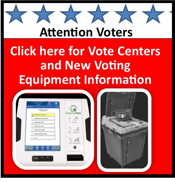 vote center button